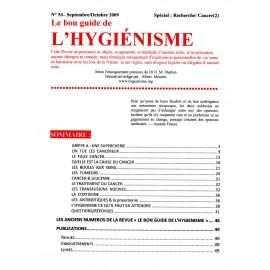N°053 - Le bon guide - Spécial Recherche, Cancer