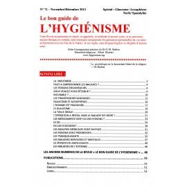 N°072 - Le bon guide - Spécial Glaucome, Acouphènes, Nerfs, Spondylite