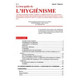 N° 003 - Le bon guide de l'hygiénisme
