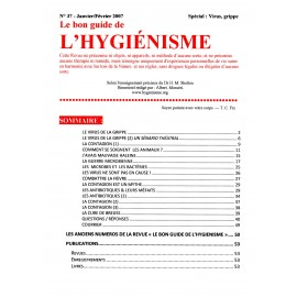 N°037 - Le bon guide - Spécial Virus, Grippe