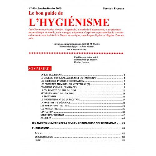 N°049 - Le bon guide - Spécial Prostate