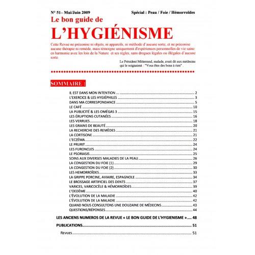 N°051 - Le bon guide - Spécial Peau, Foie, Hémorroïdes