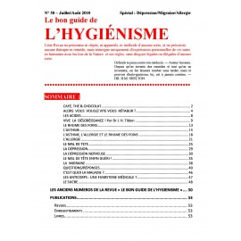 N°058 - Le bon guide - Spécial Dépression, Migraine, Allergie