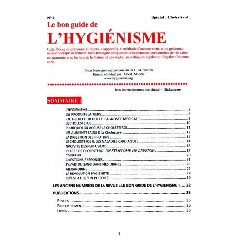 """N° 002 - Le Bon Guide - Spécial """"Cholestérol"""""""