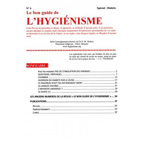 N° 004 - Le Bon Guide - Spécial Diabète (1)
