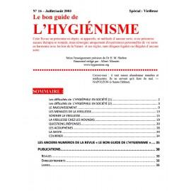 N° 016 - Le bon guide - Spécial Viellesse