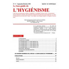 N° 017 - Le bon guide - Spécial Antibiotiques