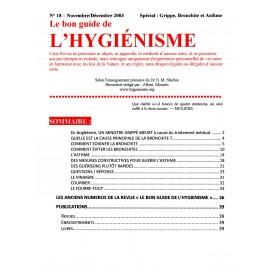 N° 018 - Le bon guide - Spécial Grippe, Bronchite, Asthme