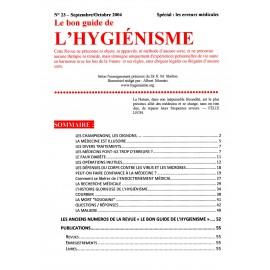 N° 023 - Le bon guide - Spécial Erreurs médicales