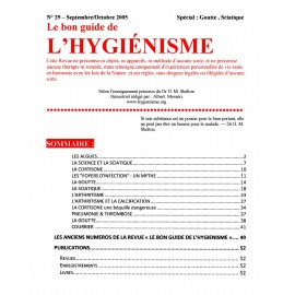 N° 029 - Le bon guide - Spécial Goutte, Sciatique