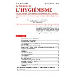N° 033 - Le bon guide - Spécial Anémie, Calculs