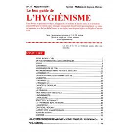 N°038 - Le bon guide - Spécial Maladie de la peau, Œdèm