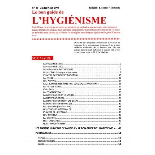 N°046 - Le bon guide - Spécial Estomac, Intestins