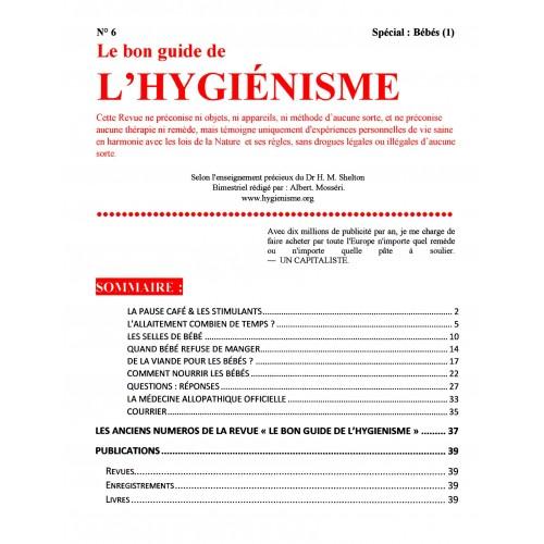 N° 006 - Le Bon Guide - Spécial Bébés (1)