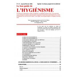 N° 019 - Le bon guide - Spécial Progrès de la médecine