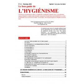N° 021 - Le bon guide - Spécial Yeux et dents
