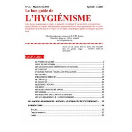 N° 026 - Le bon guide - Spécial Cancer