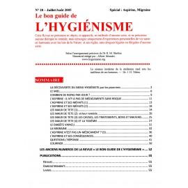 N° 028 - Le bon guide - Spécial Aspirine, Migraine